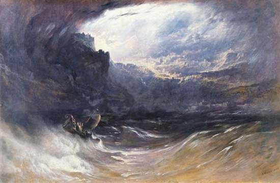 The Deluge by John Martin