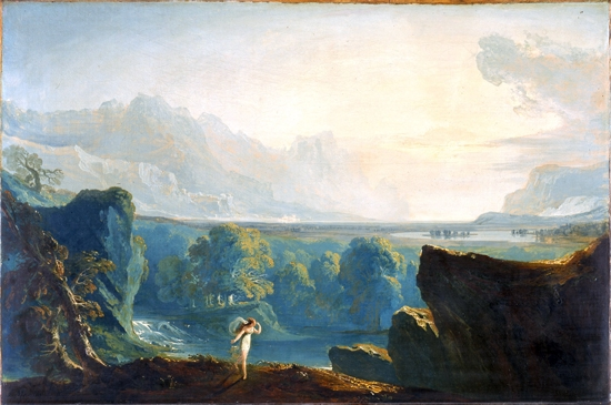 Clytie 1814 by John Martin