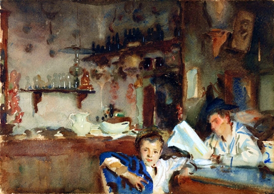 A Venetian Trattoria by John Singer Sargent