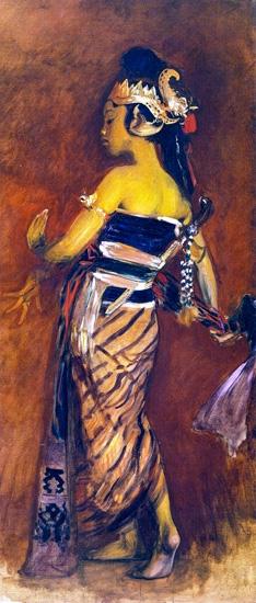A Javanese Dancer 1889-3 by John Singer Sargent