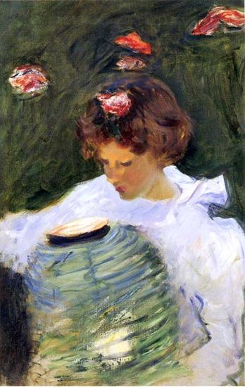 Dorothy Barnard 1885 by John Singer Sargent