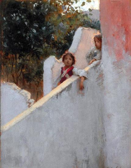 Ricordi Di Capri 1878 by John Singer Sargent