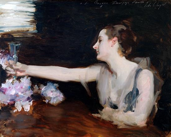 Madame Gautreau Drinking a Toast, 1882-1883 by John Singer Sargent