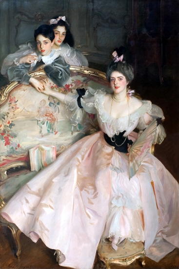 Mrs Carl Meyer and Her Children 1896 by ジョン·シンガー·サージェント