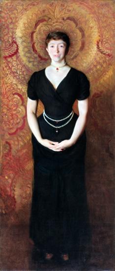 Isabella Stewart Gardner, 1888 by John Singer Sargent