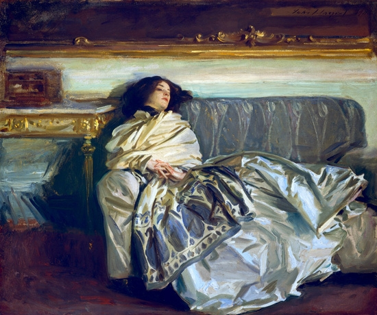 Nonchaloir (Repose) 1911 by John Singer Sargent