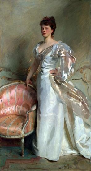 Mrs. George Swinton (Elizabeth Ebsworth) 1897 by ジョン·シンガー·サージェント