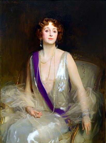 Grace Elvina, Marchioness Curzon of Kedleston 1925 by ジョン·シンガー·サージェント
