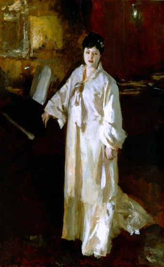 Judith Gautier 1885 by John Singer Sargent