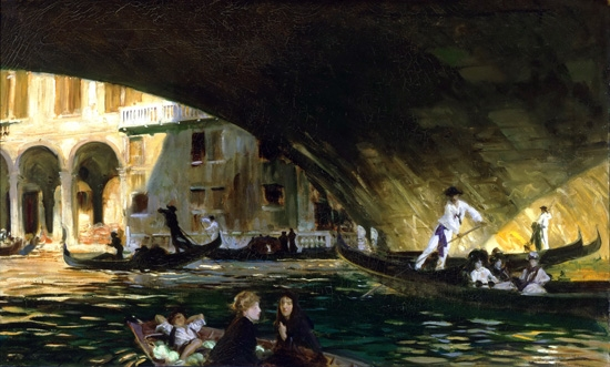 The Rialto, Venice 1911 by John Singer Sargent