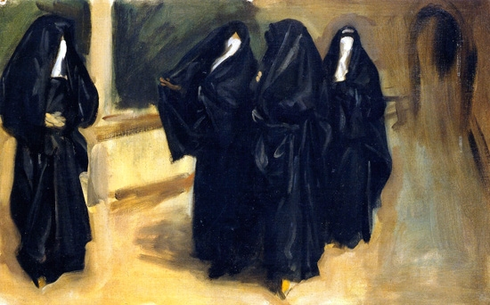 Four arab Women by John Singer Sargent