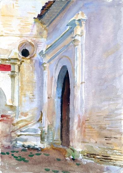 Arched Doorway by John Singer Sargent