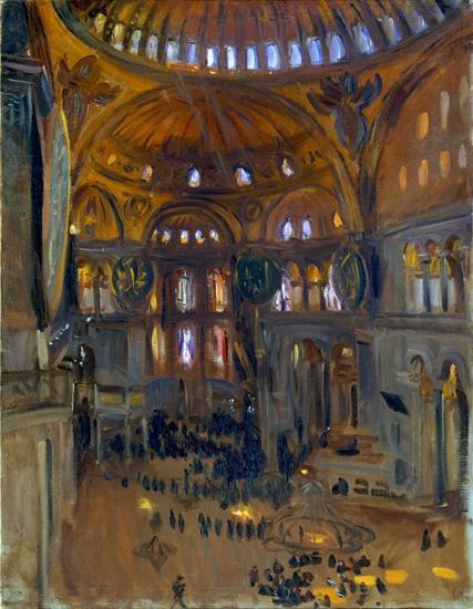 Santa Sofia 1891 by ジョン·シンガー·サージェント