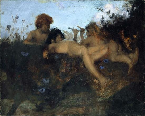 A Summer Idyll 1877 by John Singer Sargent