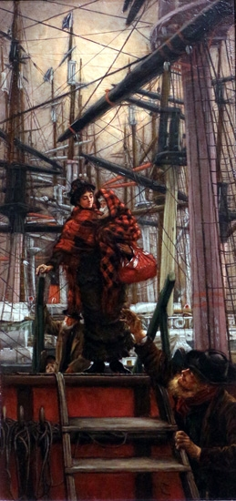 The Emigrants by James Tissot