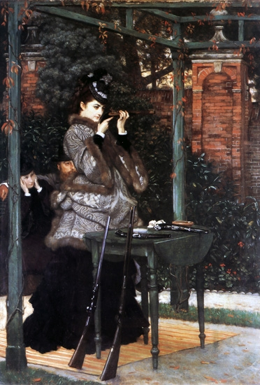 At the Rifle Range by James Tissot