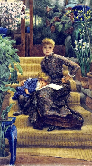 The Elder Sister by James Tissot