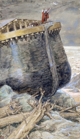 The Dove Returns to Noah by James Tissot