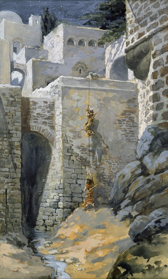 The Flight of the Spies by James Tissot