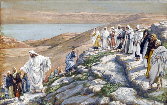 Ordaining of the Twelve Apostles by James Tissot