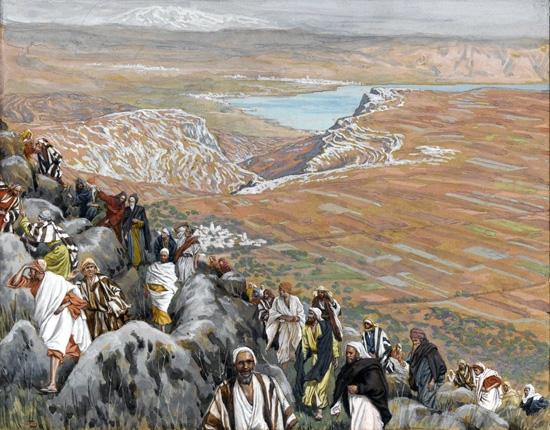 The People Seek Jesus to Make Him King by James Tissot