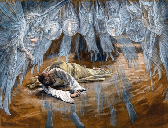The Grotto of the Agony by James Tissot