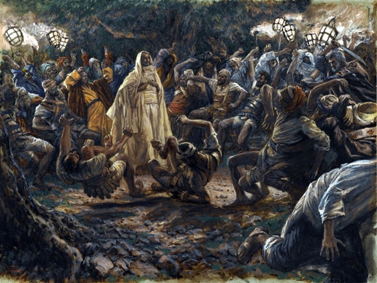 The Guards Falling Backwards by James Tissot