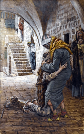 The Return of the Prodigal Son copy by James Tissot