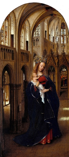 The Madonna in the Church by Jan Van Eyck