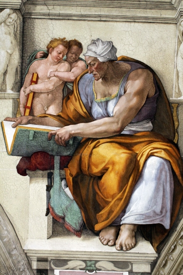 The Cumaean Sibyl by Michelangelo Buonarroti