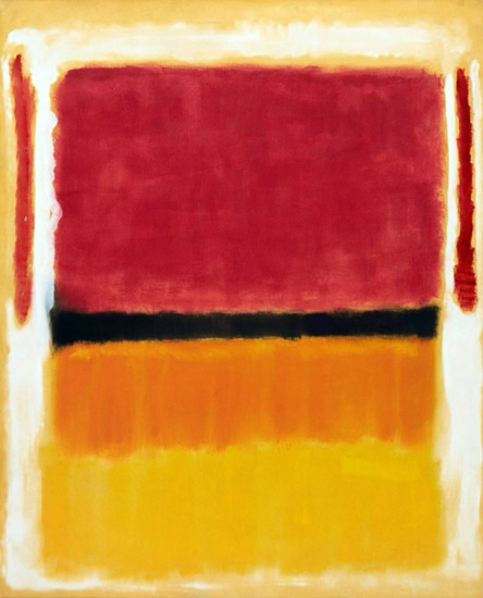 Untitled (Violet, Black, Orange, Yellow On White And Red) by Mark Rothko (Inspired by)