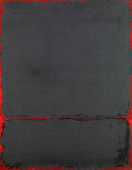 Untitled 1969 by マーク・ロスコ