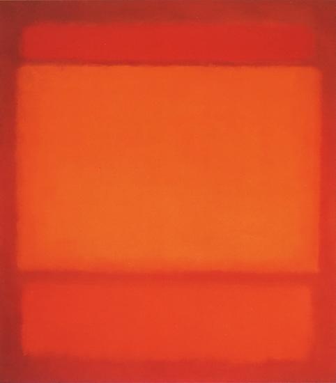 Red Orange Orange On Red by マーク・ロスコ