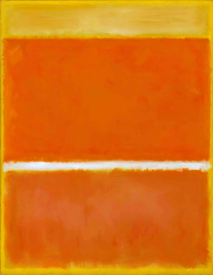 Saffron by Mark Rothko (Inspired by)