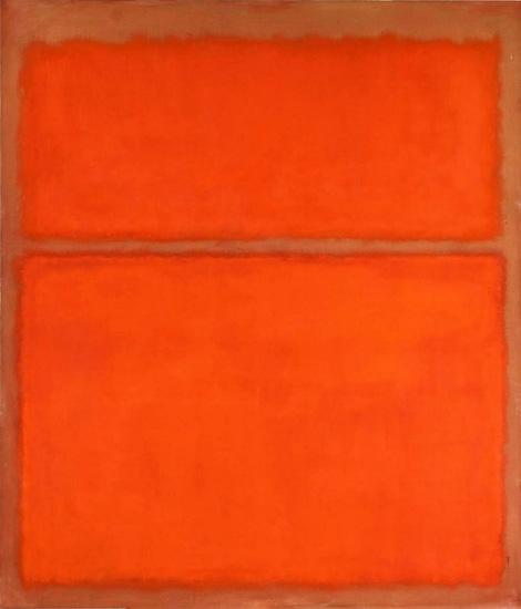Untitled 162 by Mark Rothko (Inspired by)