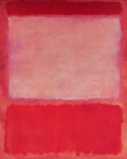 No 16 (Orange, Purple, Orange), 1960 by マーク・ロスコ