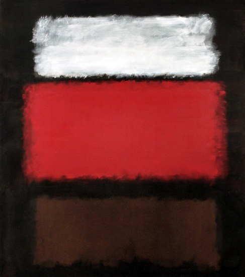 No. 1, White And Red by Mark Rothko (Inspired by)
