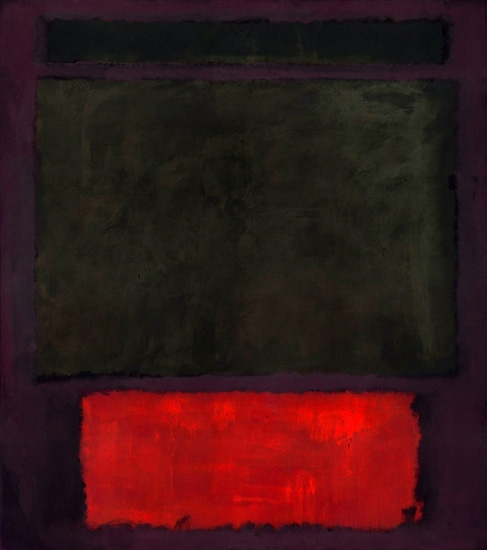 No. 1 by Mark Rothko (Inspired by)