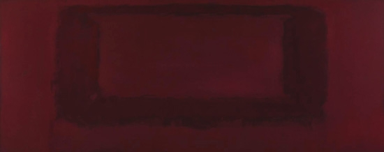 Red On Maroon 1959 by Mark Rothko (Inspired by)