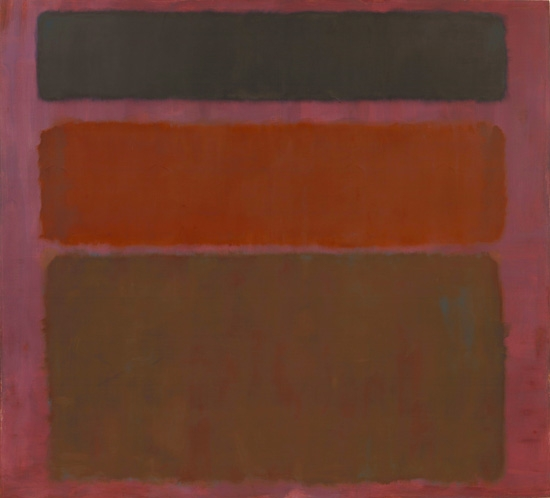 No. 16 (Red, Brown, And Black) 1958 by Mark Rothko (Inspired by)