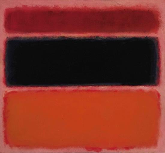 No. 36 (Black Stripe) by Mark Rothko (Inspired by)