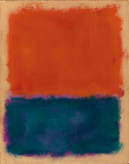 Untitled by Mark Rothko (Inspired by)