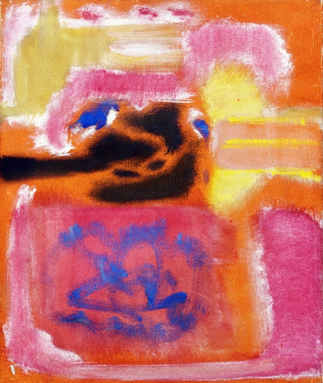 No. 9 by Mark Rothko (Inspired by)