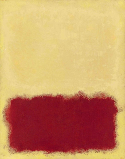 Untitled-1958 by Mark Rothko (Inspired by)