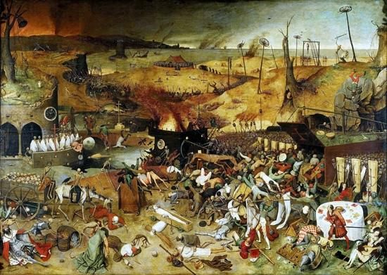 死の勝利 by ピーテル・ブリューゲル