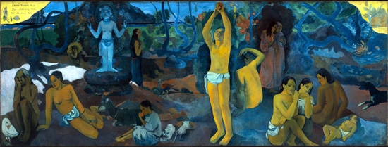 Where Do We Come From? Who are We? Where are We Going? by Paul Gauguin