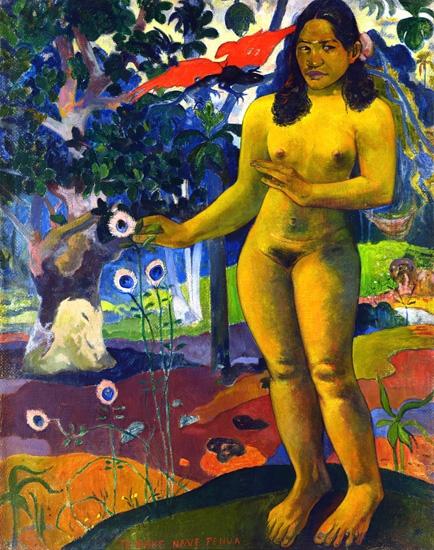 Te Nave Nave Fenua (1892) by Paul Gauguin