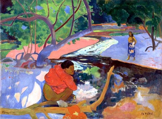 Te Poipoi (Le Matin) by Paul Gauguin