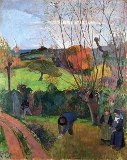 The Willow Tree (Le Saule) by Paul Gauguin