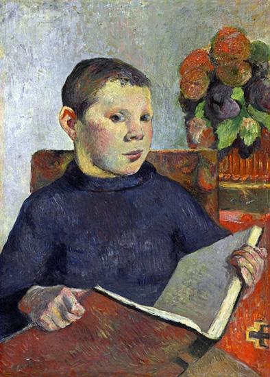 Clovis by Paul Gauguin